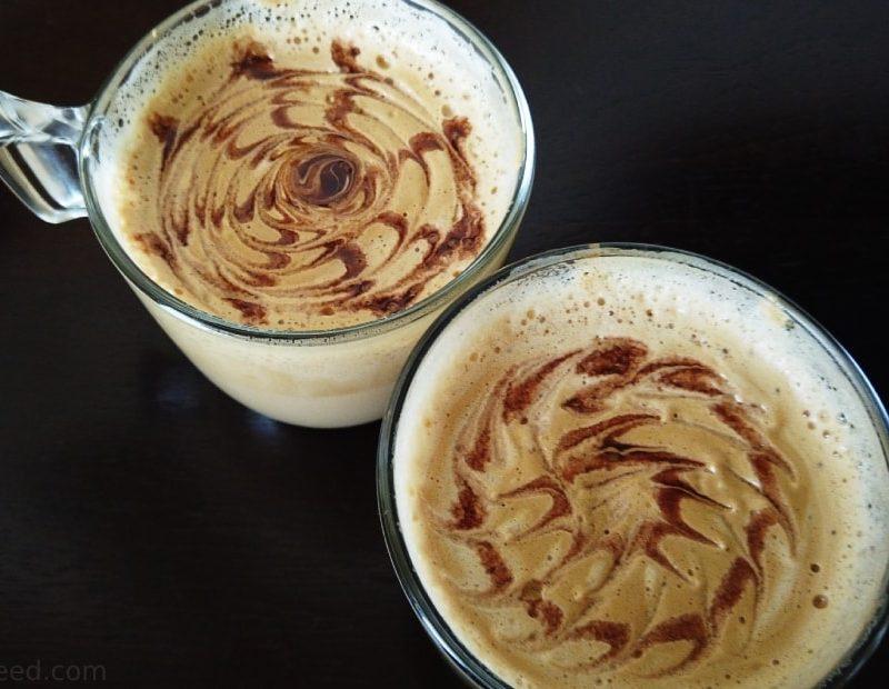 Homemade Cappuccino Coffee