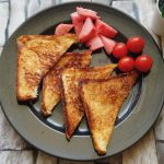 Garlic Cheese Chilly Toast Sandwich