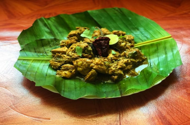 Chicken Coconut Fry