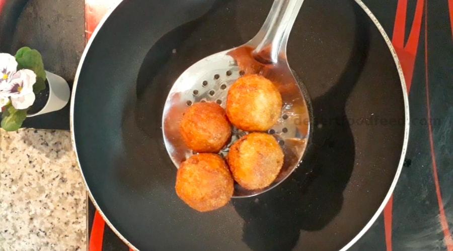 egg keema balls