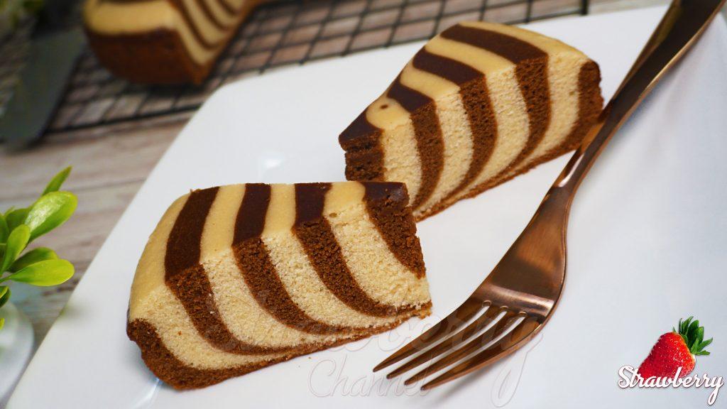 Easy Marble Cake in Saucepan | Zebra Cake Recipe