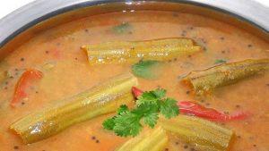 Murungakkai Sambar | Drumstick Sambar Recipe