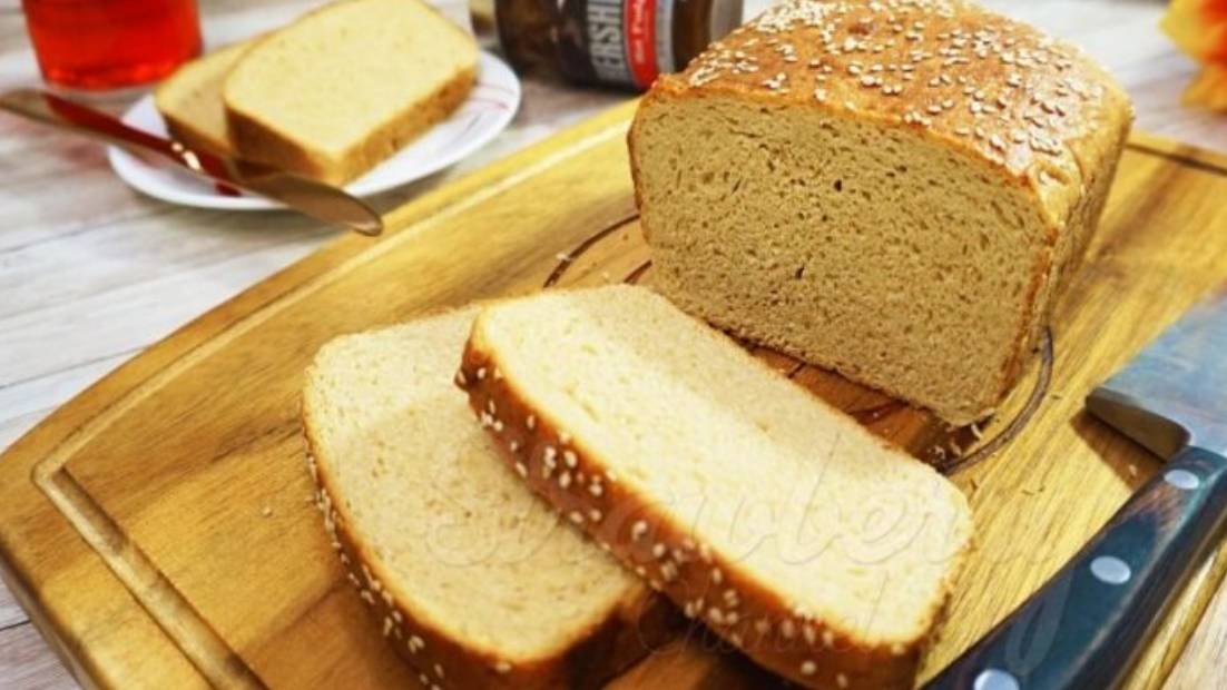 Whole Wheat Bread | Brown Bread | Eggless Bread