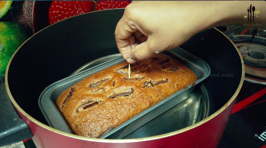 Eggless Dates Cake Recipe