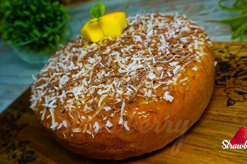 Mango Cake in Saucepan