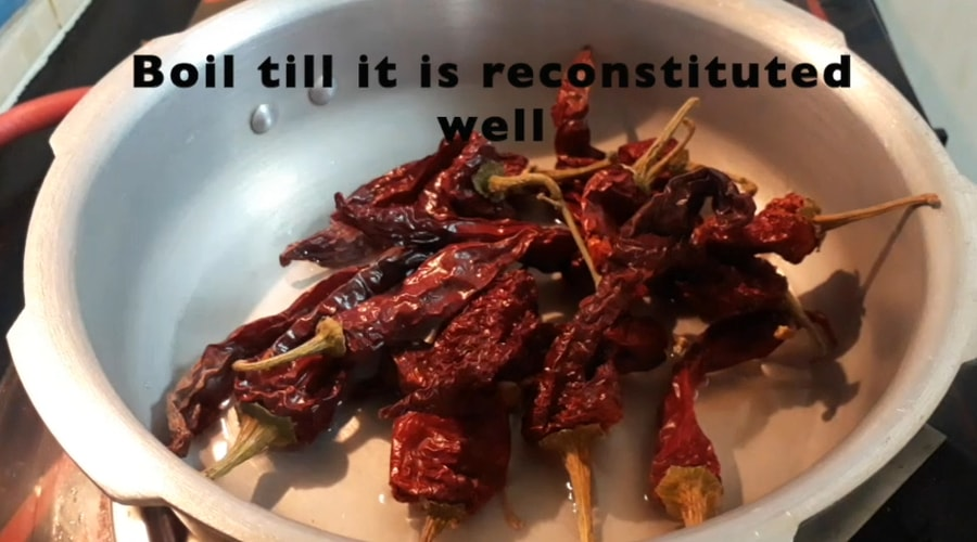 kashmiri red chilly paste