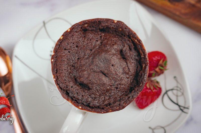 One Minute Chocolate Mug Cake Recipe