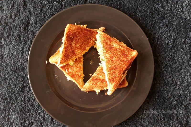 Curd Sandwich Recipe | Yogurt Sandwich