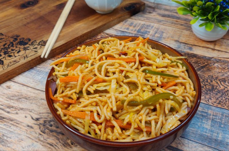 Veg Noodles Recipe | Veg Wheat Noodles