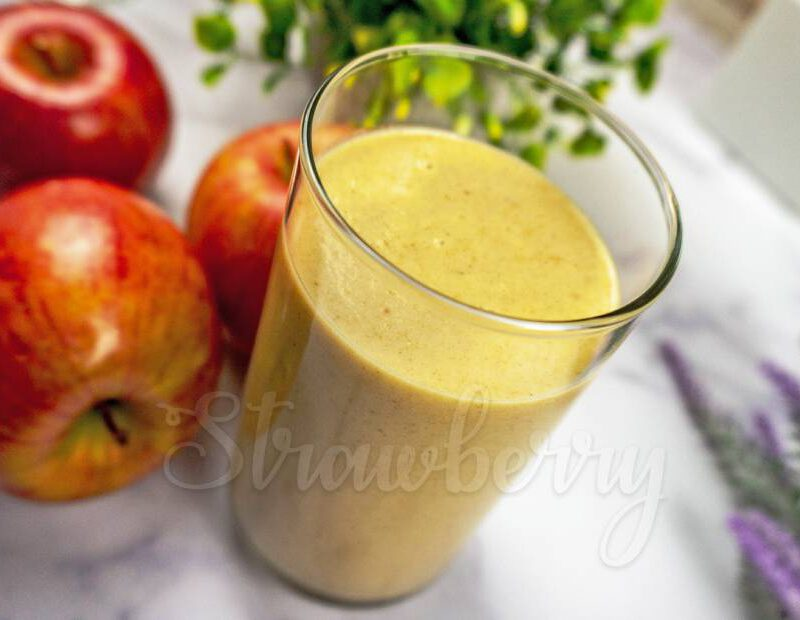 Weight Loss Apple Oats Smoothie