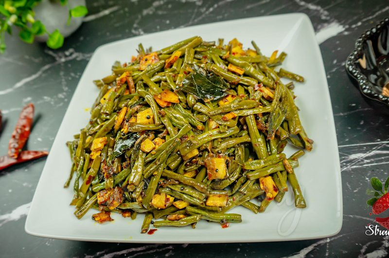 Long Bean Stir Fry Kerala Style Recipe