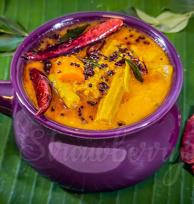 mix vegetable sambar