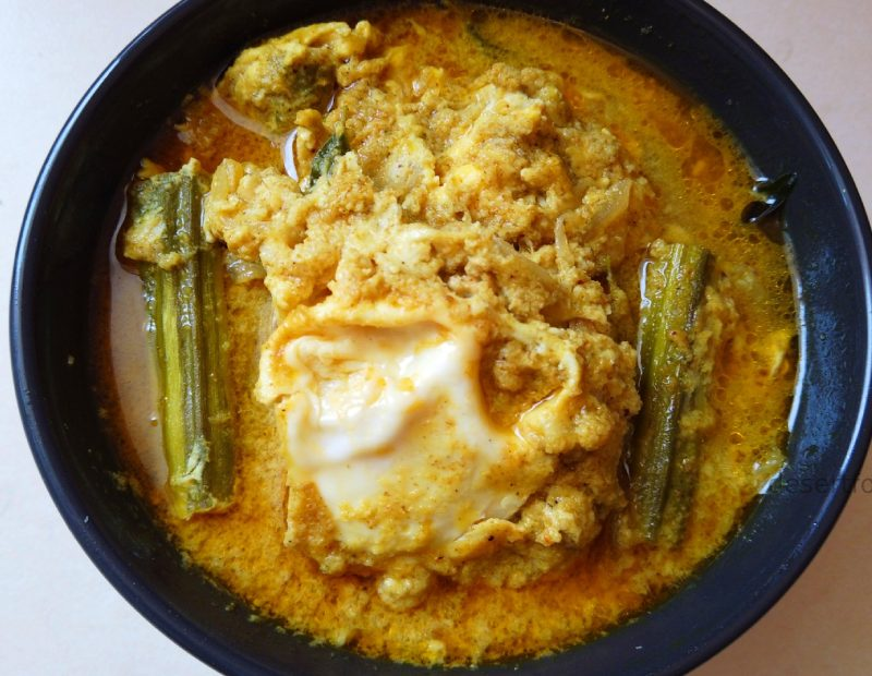 egg drumstick curry