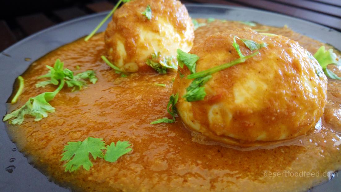 egg masala recipe