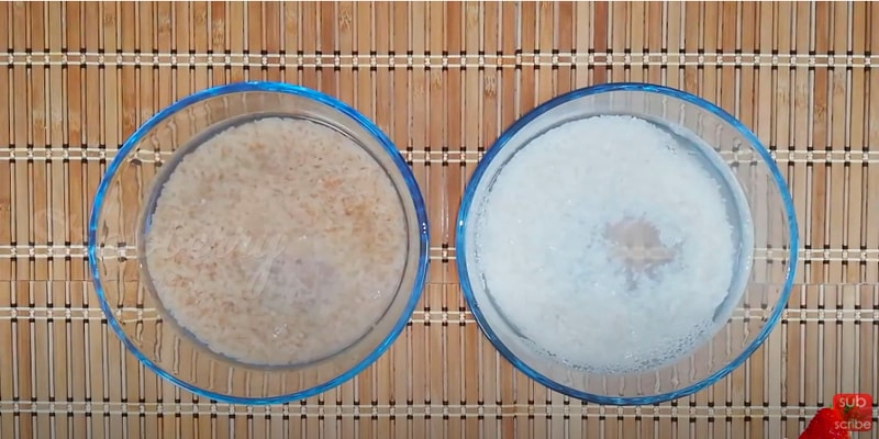 puttu using homemade rice flour