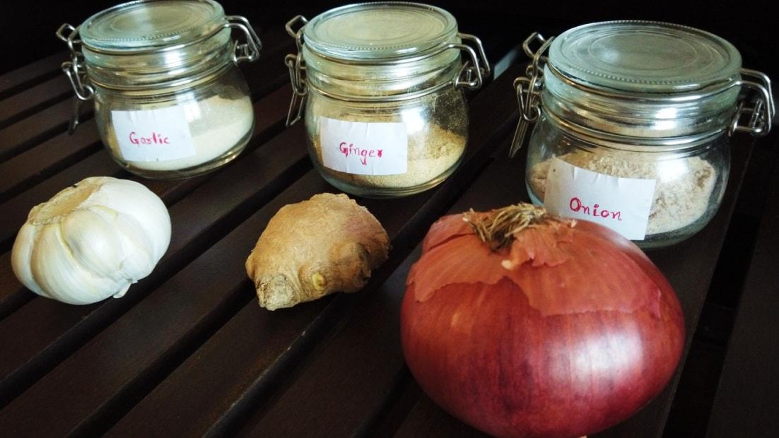 Ginger Onion Garlic Powder