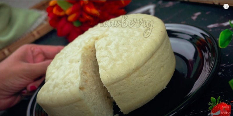 Steamed Rava Cake