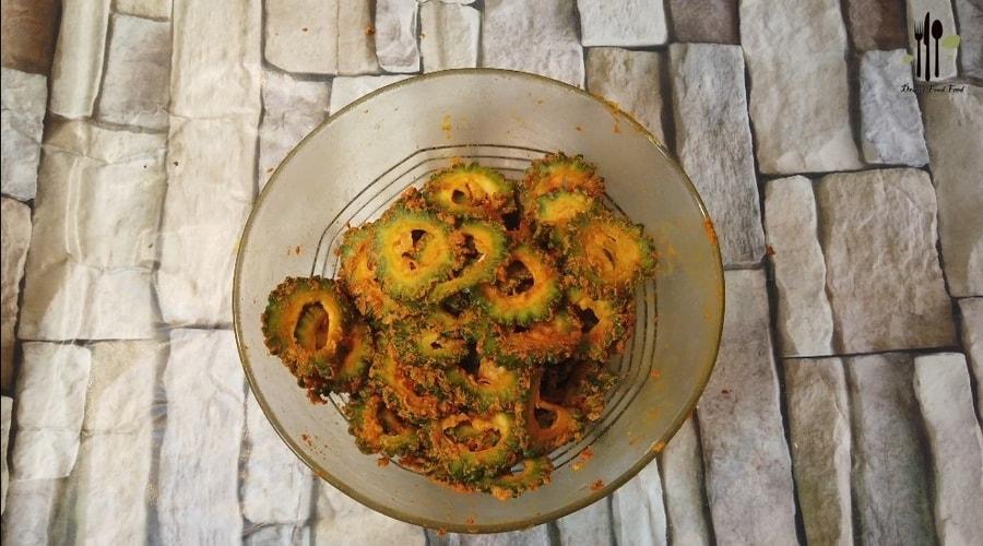 Bitter Gourd Pavakka Fry