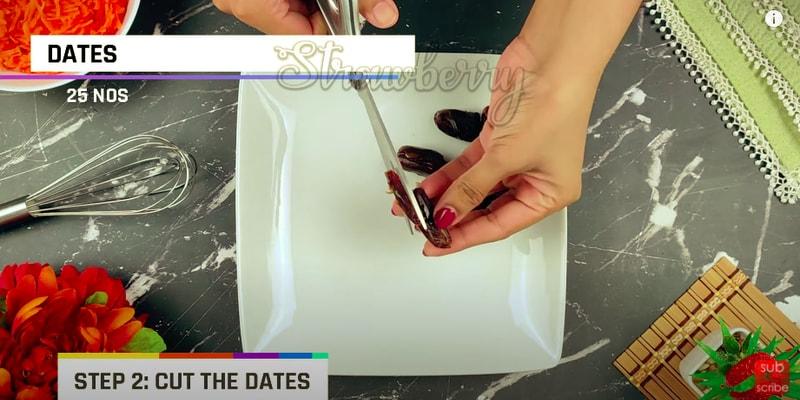 Carrot Dates Cake Recipe