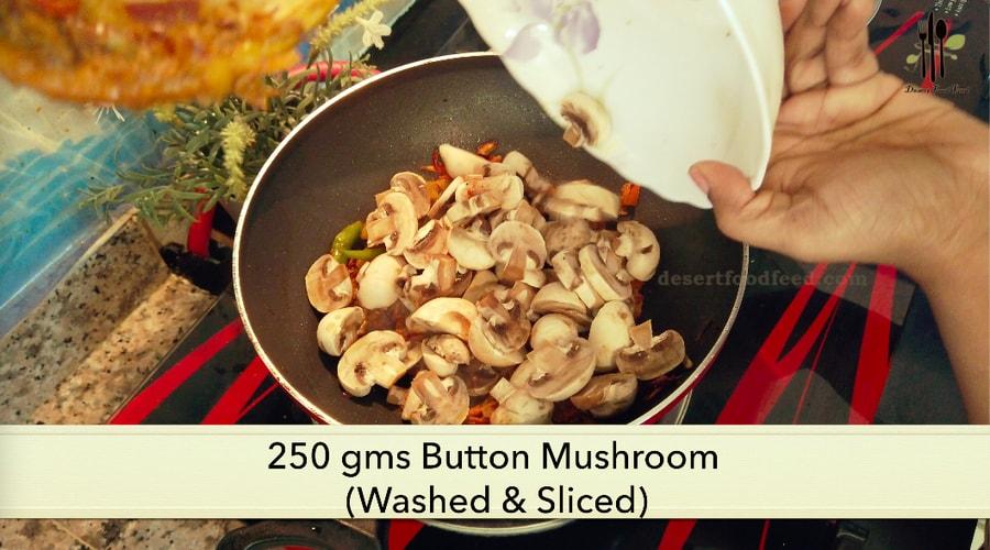 Mushroom Dum Biryani