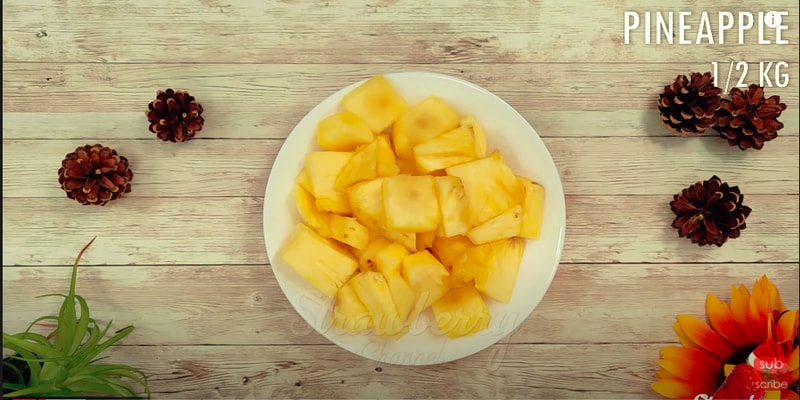 Pineapple Wine in 5 Days