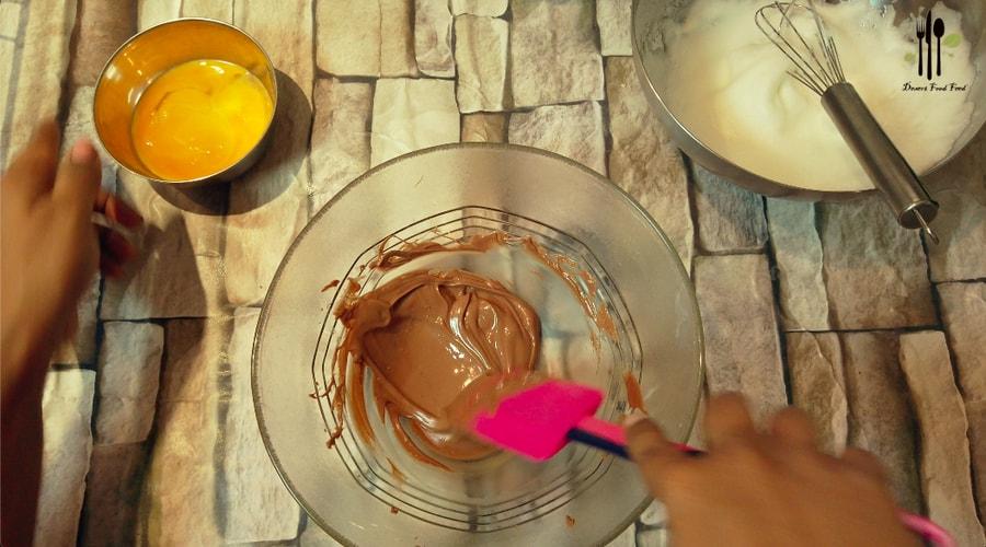 Two Ingredient Chocolate Pancakes