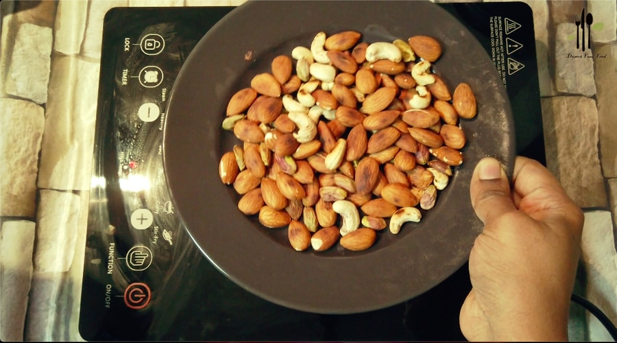 dry fruits almond badam mix