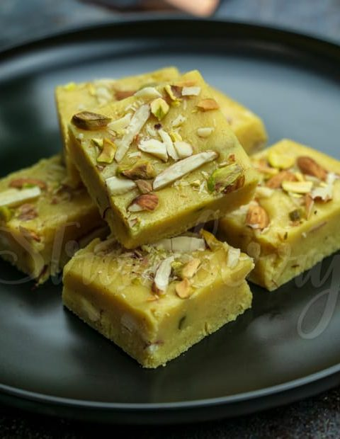 milk powder burfi barfi