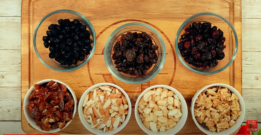 Dry Fruits Soaking for Plum Cake