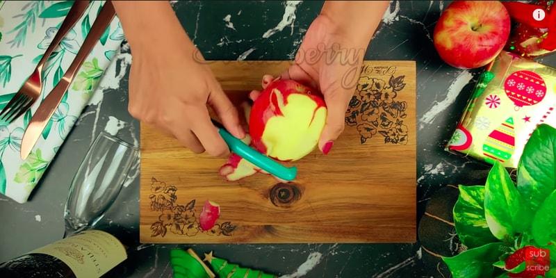 Eggless Plum Cake Using Apple Sauce