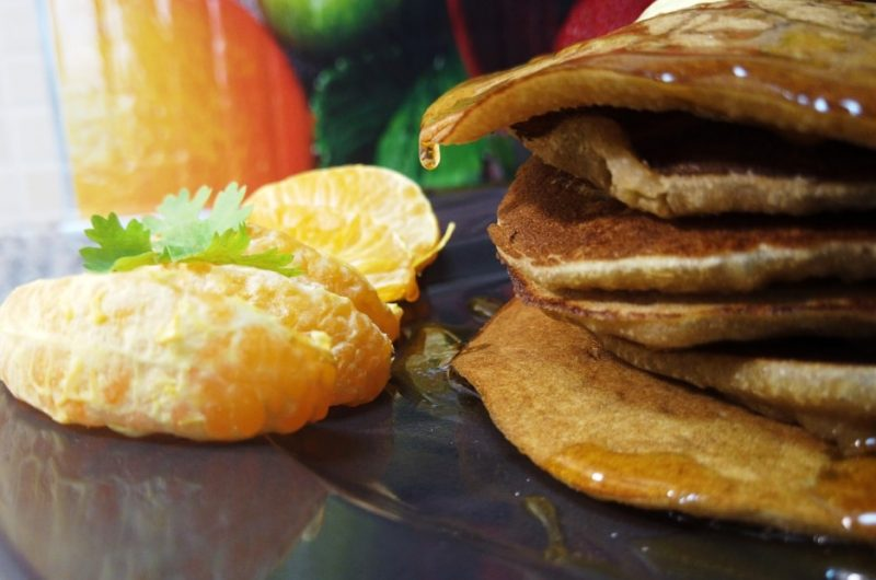 Jaggery Wheat Pancakes