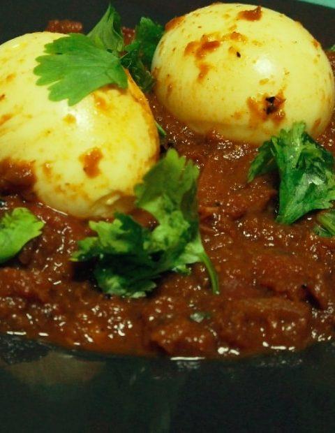 Egg Masala Roast