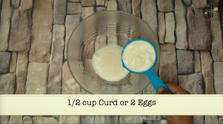 Eggless Marble Cupcake in Katoris