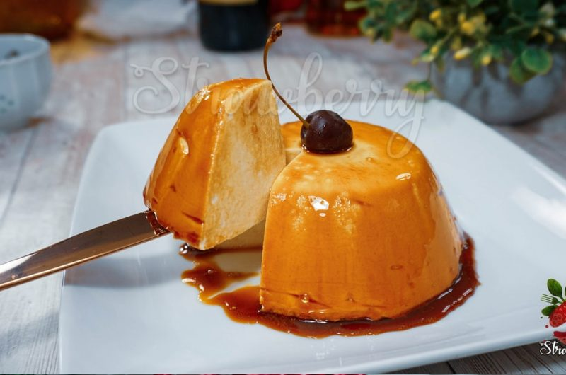 Snow Pudding | Egg White Pudding