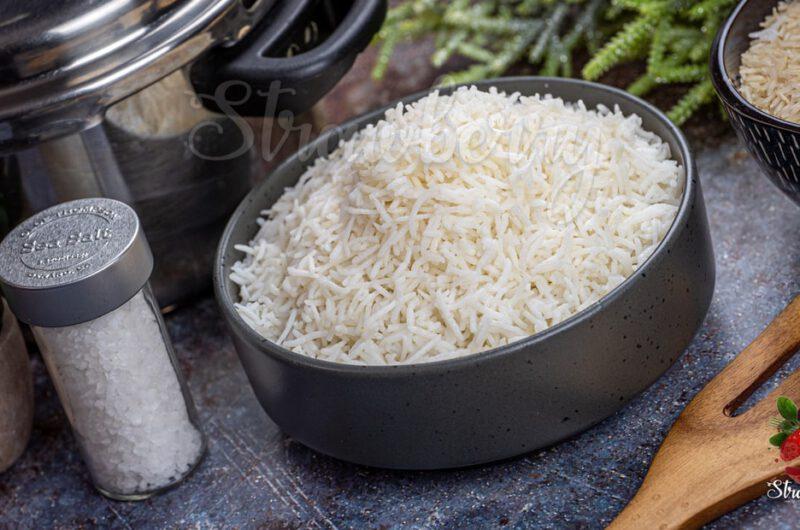 Basmati Rice in pressure Cooker