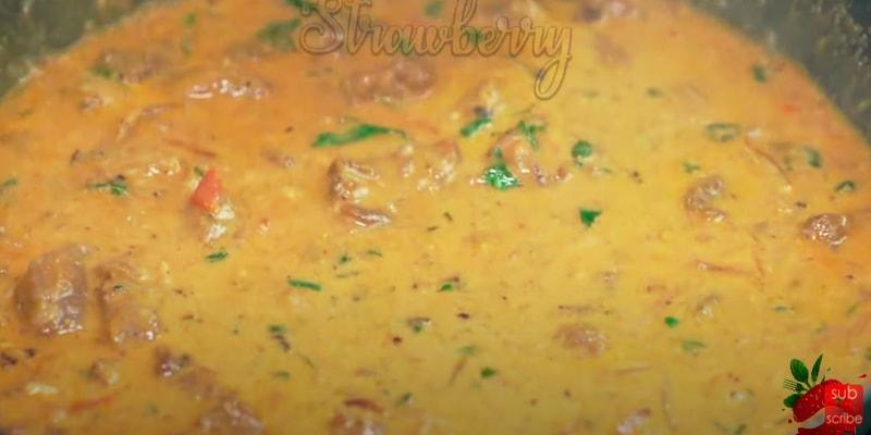 Beef Korma Curry Recipe