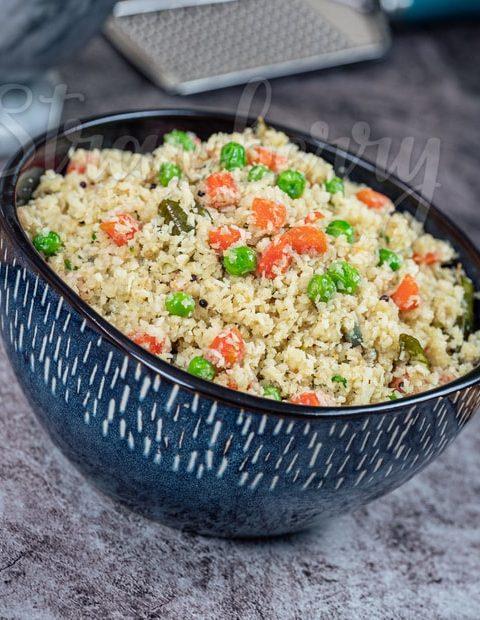 Cauliflower Rice Gobi Upma