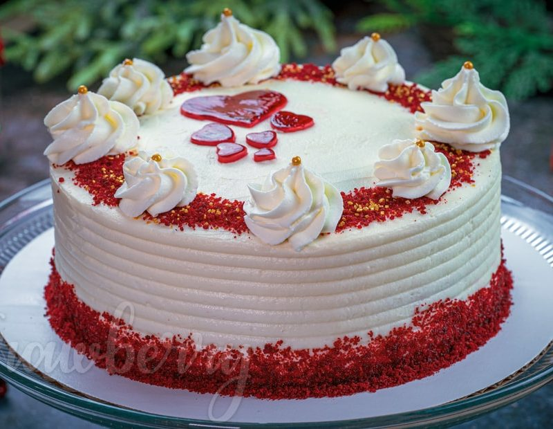 Red Velvet Cream Cheesecake