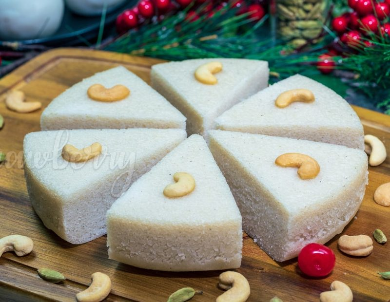 Steamed Rice Cake Vattayappam