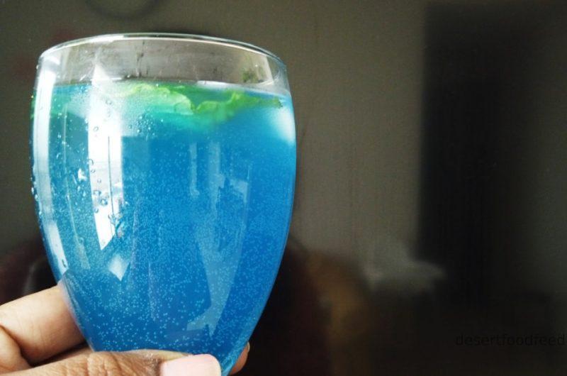 Blue Vanilla Lemonade