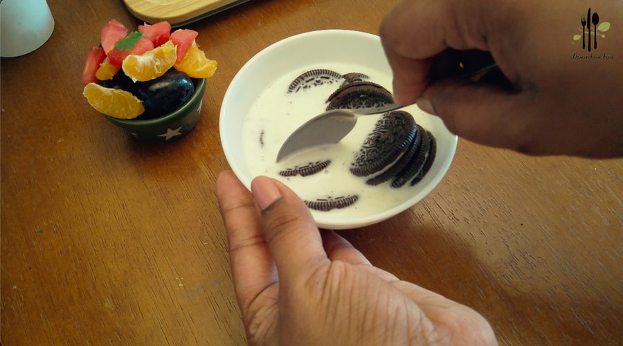Oreo Biscuit Chocolate Pudding