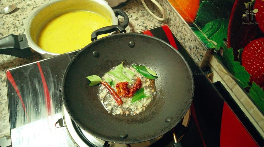 Dal Tadka Paruppu Curry