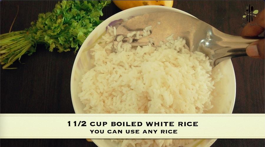 Mango Rice Porridge