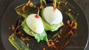 Mini Keto Egg Burger