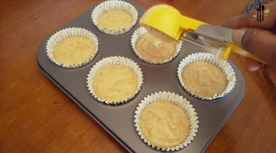 Light and Fluffy Banana Muffins