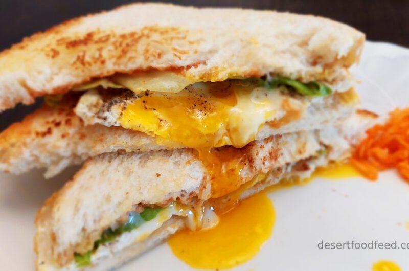 Single Side Fried Egg Sandwich