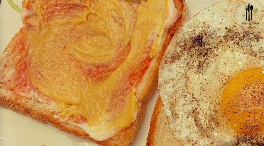 Single Side Fried Egg Sandwich5