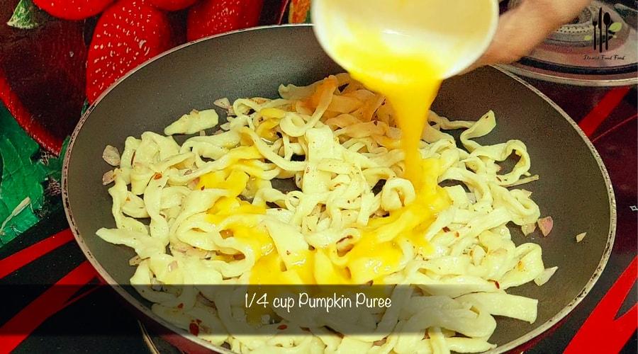 Homemade Pumpkin Pasta at Home