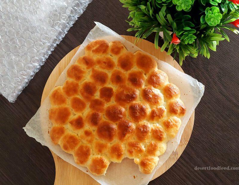 Eggless Bubble Bread