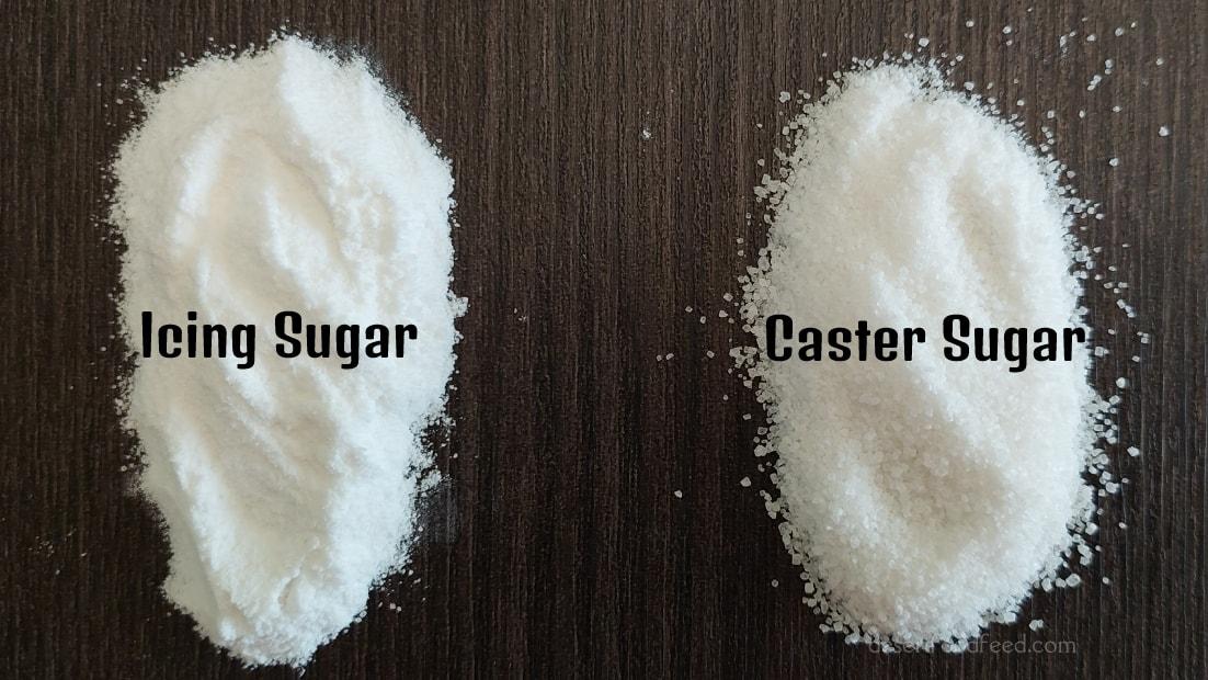 How to make Icing Sugar & Caster Sugar
